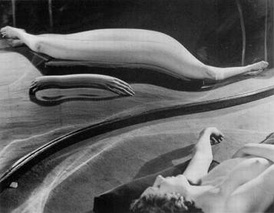 Distortion#49, one of the images in the Distortion series Kertész took during 1933
