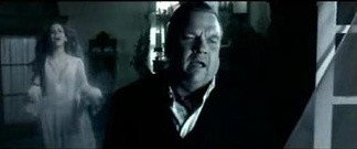 Meat Loaf's character mourning that of Marion Raven, in the 2006 video directed by P. R. Brown.