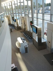 Terminal C commuter gates