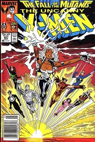 Uncanny X-Men #227 (March 1988) by Chris Claremont and Marc Silvestri
