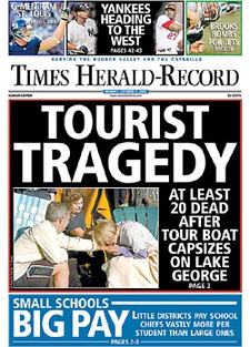 Times Herald Record cover 2005-10-03.jpg
