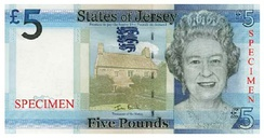 The Jersey £5 note