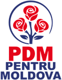 The current party logo