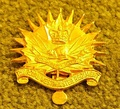 Non-commissioned members' hat badge of The Royal Westminster Regiment, as worn after 1967