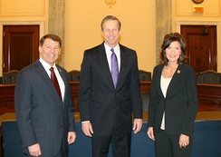 U.S. congressional delegation from South Dakota for the 114th Congress-present consists of an all-Republican delegation in Sen. Mike Rounds, Sen. John Thune, and Rep. Kristi Noem.