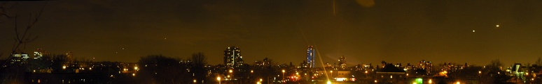 Panoramic view of the skyline