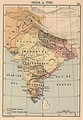 Map of India in 1795.