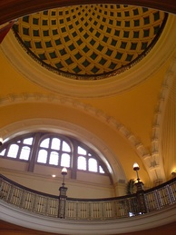 Ceiling of the Aston Webb building