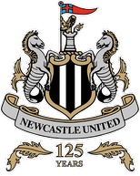 Newcastle United special 125 years crest: 2017–2018