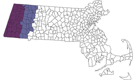 The Berkshire region of Massachusetts.