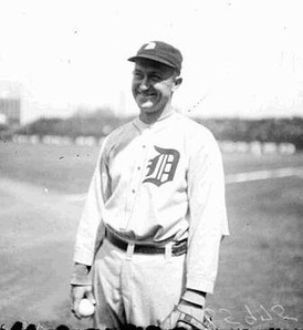 Ty Cobb recorded a career 4,191 hits, holding the Major League record for 57 years.