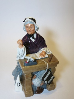 Schoolmarm, a figurine by Royal Doulton
