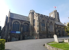 St Mary's church in Bideford in 2018