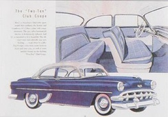 1954 Chevrolet 210 club coupe ad
