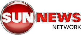 Sun News Network logo, which also served as CKXT's de facto logo from April to October 2011