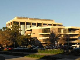 Davidson Library, UCSB campus