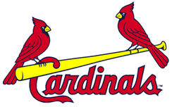 "The current ""birds on the bat"" logo introduced in 1998 (although variations of this have been used since 1957)."