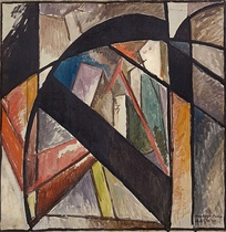 Albert Gleizes, 1915, Brooklyn Bridge (Pont de Brooklyn), Solomon R. Guggenheim Museum. This was the most abstract painting of the bridge to date