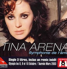 The cover of the single released in France