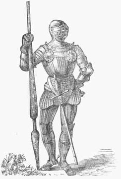Perfected and fluted armour of Henry VII