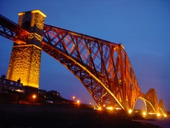 The Forth Railway Bridge is a cantilever bridge over the Firth of Forth in the east of Scotland. It was opened in 1890, and is designated as a Category A listed building.