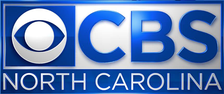 """CBS North Carolina"" logo, used from 2016 to 2018"