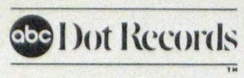 The ABC/Dot Records logo. The logo first read 'ABC/Dot' and the word 'Records' was added later.[7]
