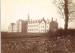 An early photograph of the school.