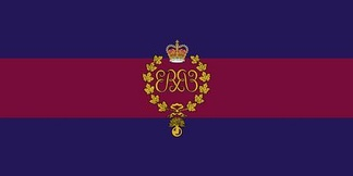 The camp flag of The Canadian Grenadier Guards.