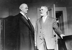 James Mann (right) with Speaker of the House Champ Clark.1911–1919