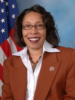 Official portrait of Fudge for the 111th Congress