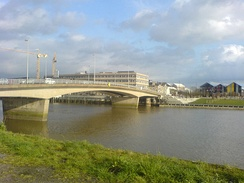 The Loire spanned at Nantes