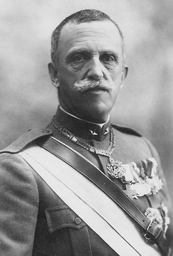 Victor Emmanuel III of Italy, King of Albania from 1939 to 1943.