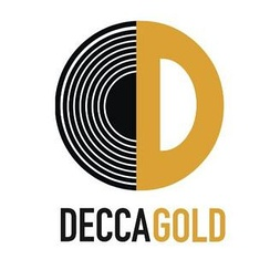 Decca Gold logo used for classical music released from the USA