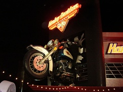 Harley-Davidson Cafe theme restaurant located on the Las Vegas Strip