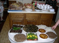 Typical Assyrian cuisine