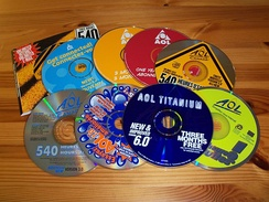 A few promotional CD-ROMs distributed in Canada.