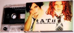 A relatively modern cassette single (by Tatu) in an O case packaging. This single is sold only in the O case and does not have an insert