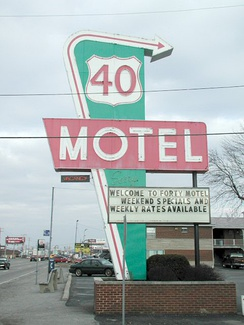 The Forty Motel in Columbus