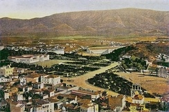 Central Athens, c. 1900, showing Zappeion, Kallimarmaron and their environs