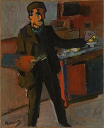 André Derain, Self-portrait in the Studio, 1903, National Gallery of Australia, Canberra, Australia