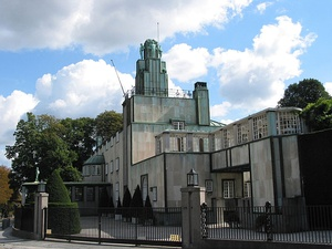 Stoclet Palace by Josef Hoffmann, Brussels, (1906–1911)