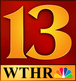 WTHR's previous logo from 1995 to 2014.