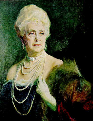 The Countess of Airlie, the lady-in-waiting of Queen Mary.