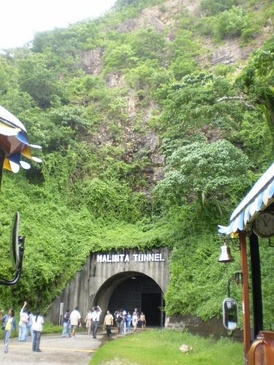 The entrance to Malinta Tunnel