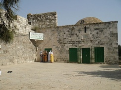 Mausoleum of Sulaiman, Compound of Al-Aqsa Mosque, Old City of Jerusalem, the Holy Land.