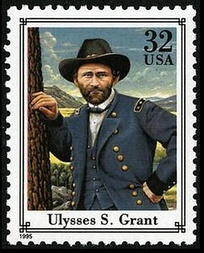 General Grant taken from Mathew Brady photo on Commemorative Issue of 1995