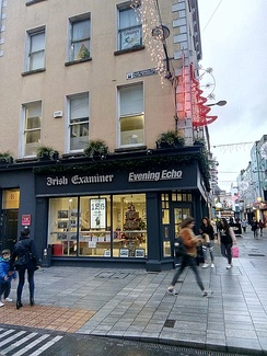 Irish Examiner premises on Oliver Plunkett Street