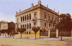 The Schliemann mansion in Athens, ca. 1910, now housing the Numismatic Museum of Athens