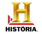 "Large yellow H and the word ""Historia"""